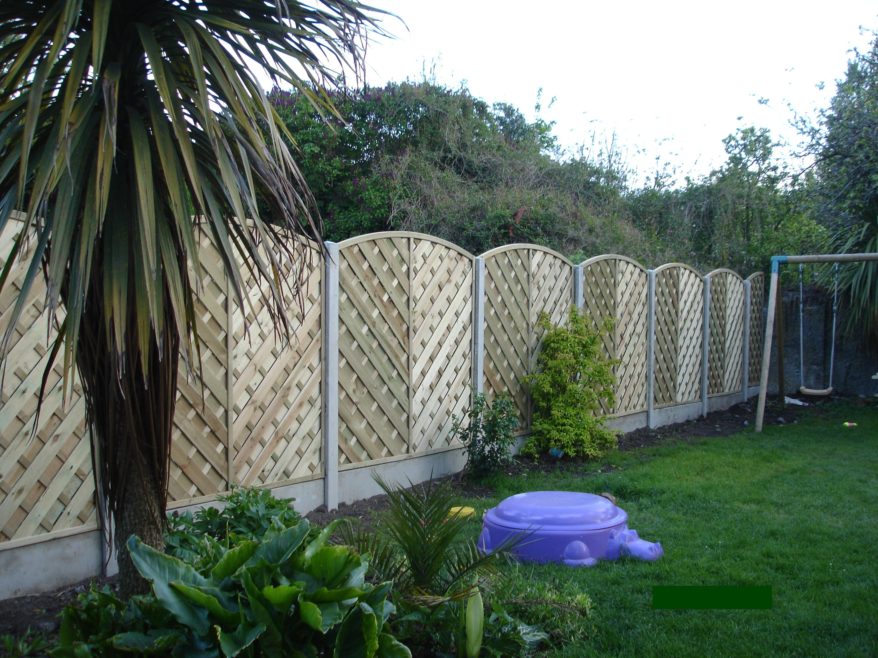 DECORATIVE PRIVACY FENCE HOW TO MAKE FENCE