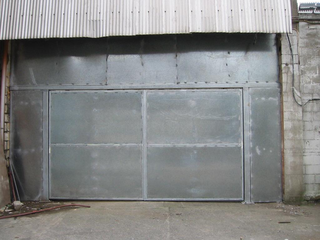 Sheet Metal Industrial Door