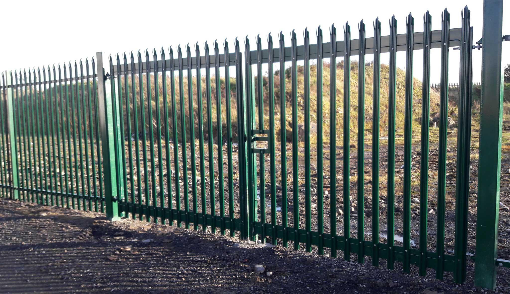 Palisade Security Gate